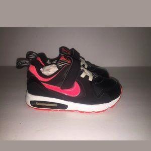 Youth Nike Air Max Hook & Loop Shoes Sz 9C